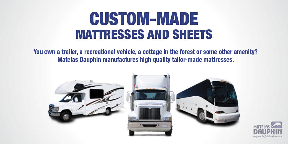 Custom-Made Mattresses and sheets