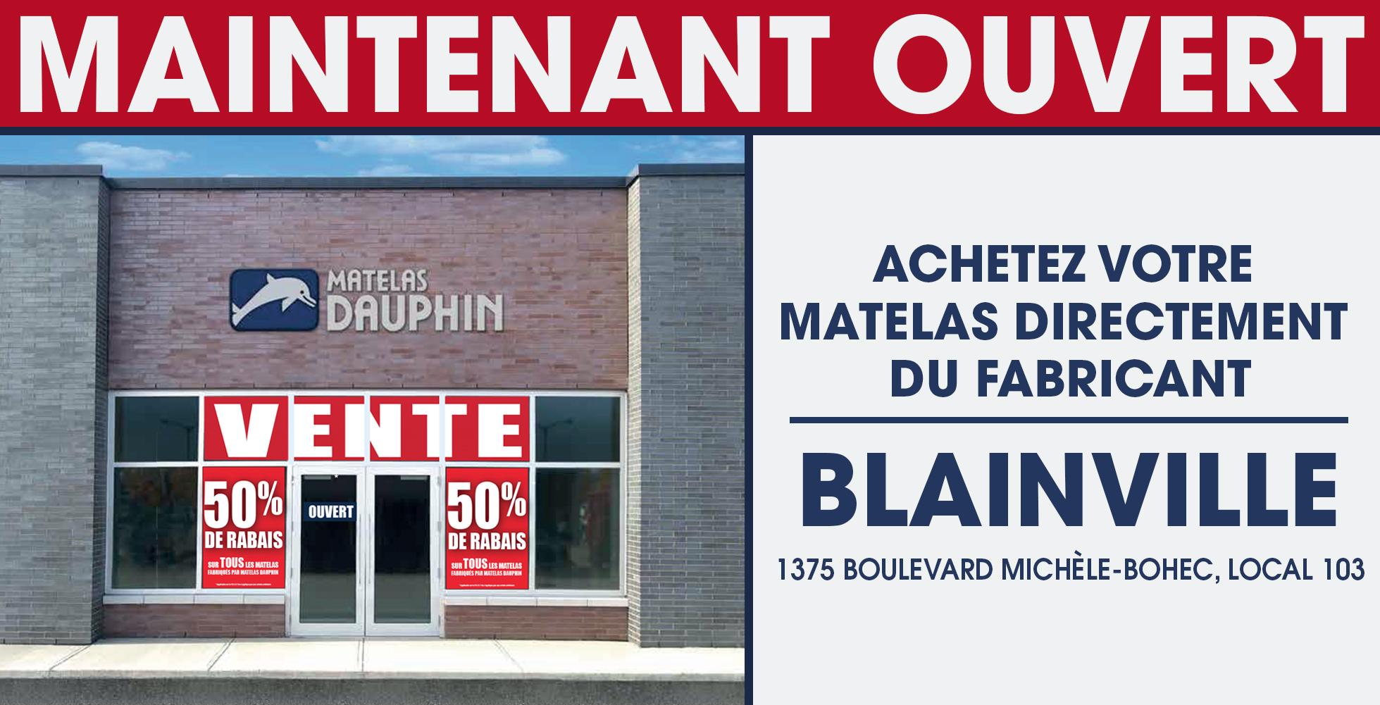 Ouverture Blainville